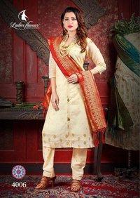 Chanderi Jacquard Suits