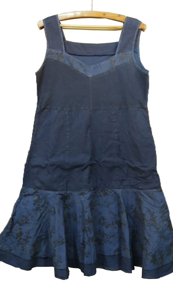 Ladies Dress Blue-009
