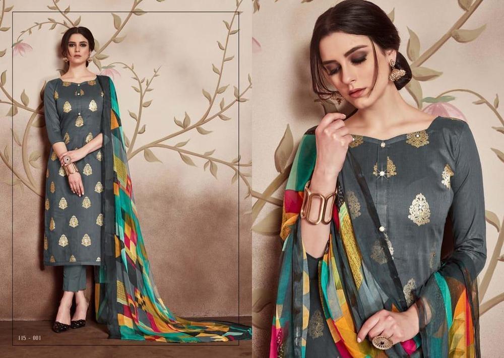 Pure Cotton Fancy Salwar Suits