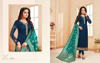 Fancy Satin Silk Salwar Suits