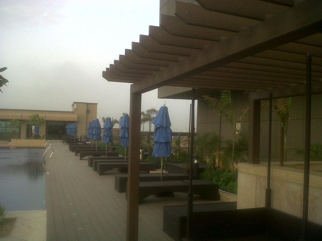 Outdoor decking patios