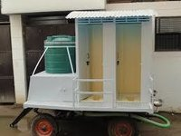 bio mobile toilet van 4 seater