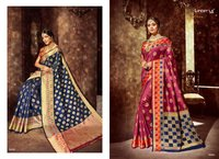 Fancy Banarasi Silk Sarees