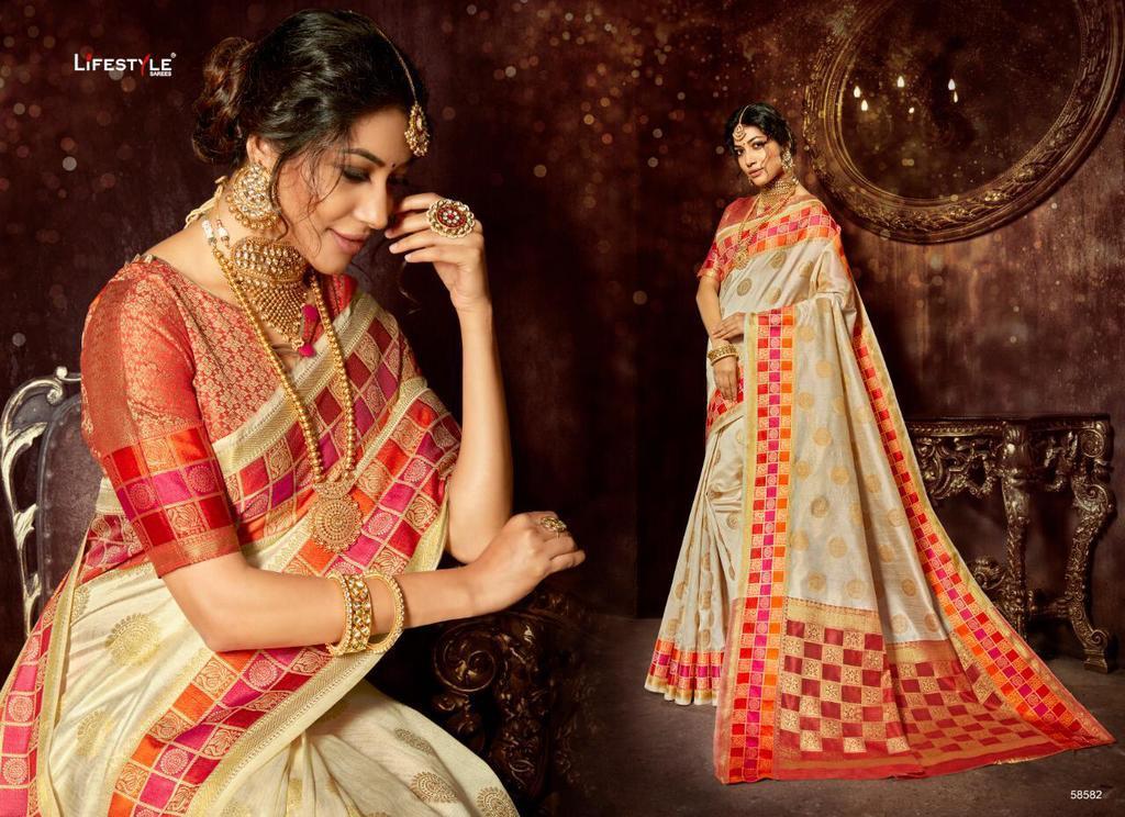 Fancy Banarasi Silk Sarees