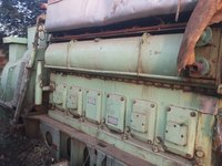 Sulzer 6ASL25D Marine Diesel Generator