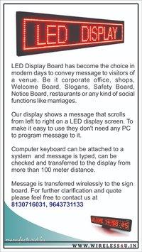 led display board