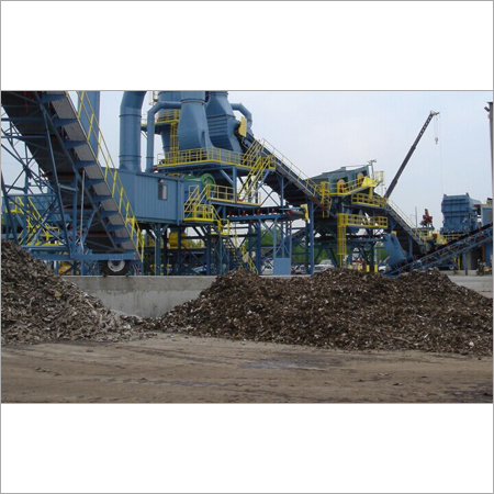 Scrap Steel Shredder Line