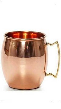Plain bear copper mug