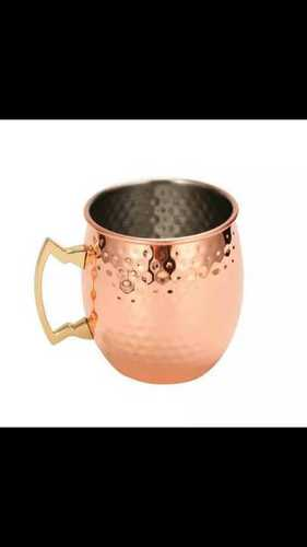 Designer copper mug