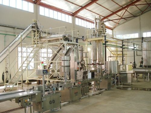 Natural Colors Extraction Plant
