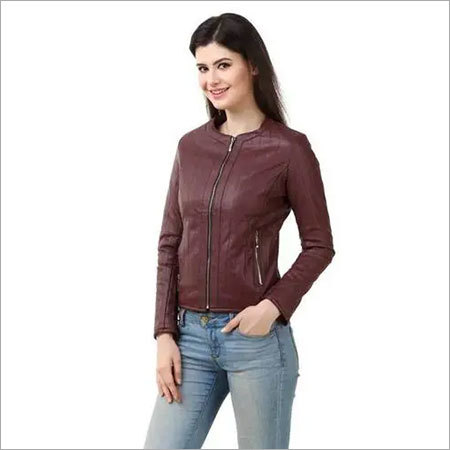Sports Ladies Leather Jackets