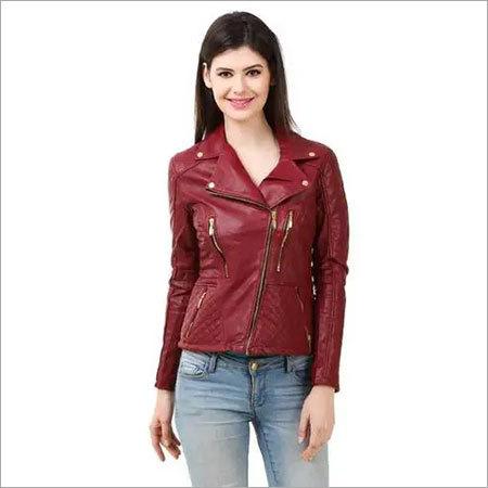 Designer Ladies Leather Jackets