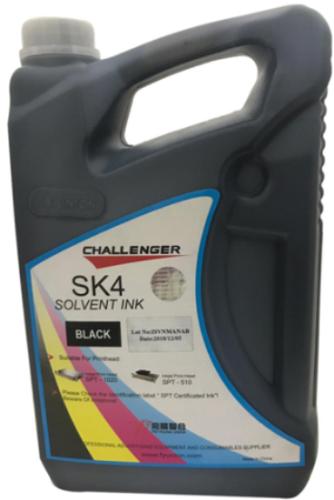 Challenger SK4 Solvent INK - Black
