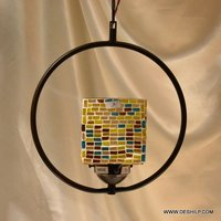 ELECTRIC GLASS WALL HANGING LAMP
