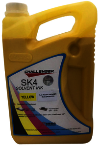 Challenger SK4 Solvent INK - Yellow