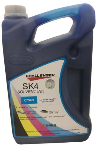 Challenger SK4 Solvent INK - Cyan