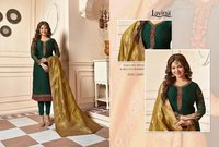 Latest Satin Georgette Salwar Kameez