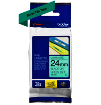 Brother Genuine Black on Green P-Touch Tape (TZe-751)