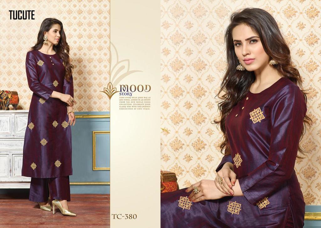 Pure Silk Designer Kurtis