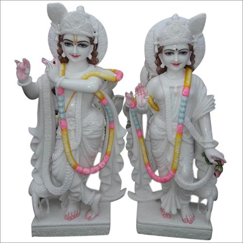 Radhe Krishna Marble statues