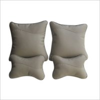Designer Grey Car Pillow kit