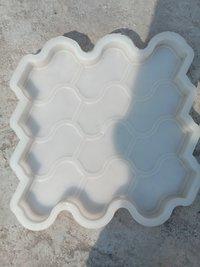 ZIGZAG/ZEBRA PLASTIC SILICON MOULD