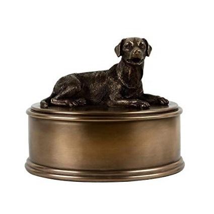 Labrador Figurine Cremation Urn