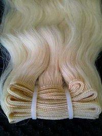 Blonde Hair Weft