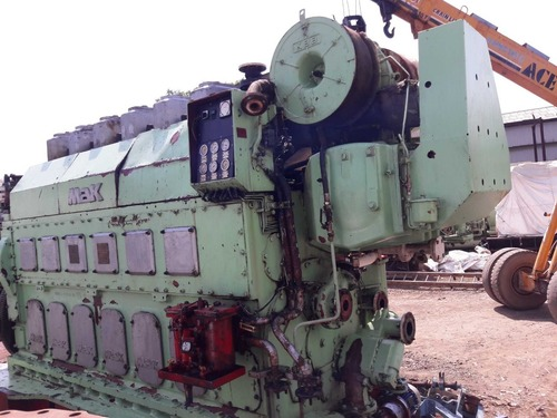 MAK 6M25 Marine Engine Year 2001