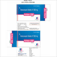 Ketoconazole Tablets I.P 200mg.