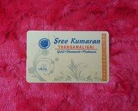 PVC Premium Gold Card
