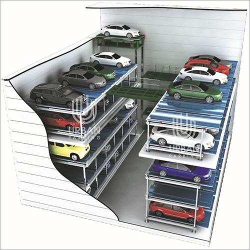 Multi Floor Cart Type Parking System