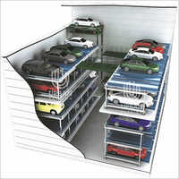 Multi Floor Cart Type Parking Systems