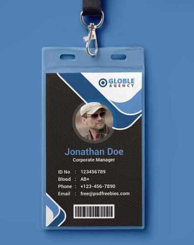 PVC Corporate ID Card
