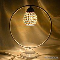 GLASS STUDY MOSAIC FINISH LAMP