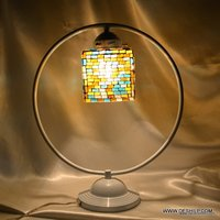 SQUIRE GLASS MOSAIC TABLE LAMP