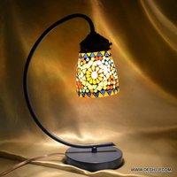 BEAUTIFUL GLASS MOSAIC LAMP