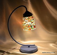 Mosaic Handcrafted Glass Table Lamp