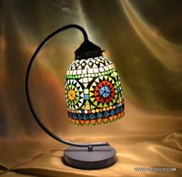 MOSAIC NIGHT STUDY LAMP