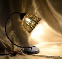 ANTIQUE SHAPE SILVER TABLE LAMP