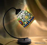 STYLISH GLASS TABLE LAMP FOR NIGHT
