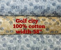 Patterned Cotton Shirting Fabric