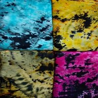 RAYON TIE AND DYE FABRIC