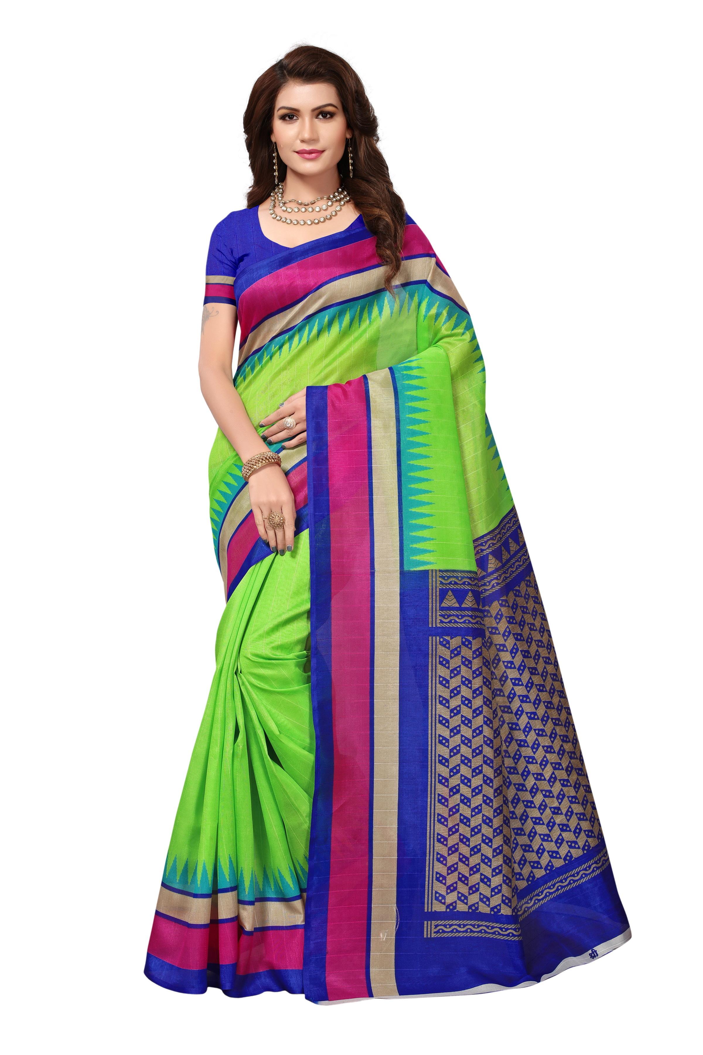 New bhaglpuri Silk saree