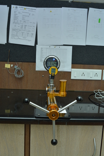 Pressure Gauge calibration