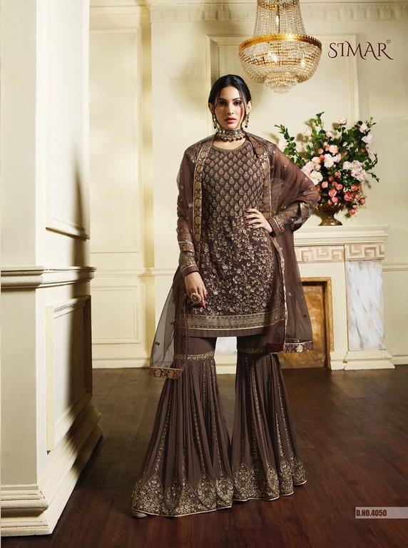 Heavy Designer Sharara Suits