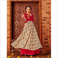 Ladies Full Length Party Wear Kurti