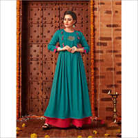 Ladies Full Length Cotton Kurti