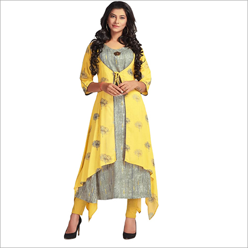 Ladies Front Cut Kurti