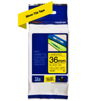 Brother Genuine Black on Yellow P-Touch Tape(TZe-661)